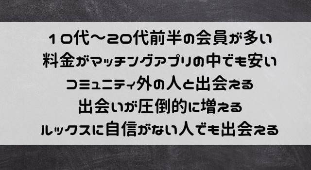 マッチングアプリ【with】が大学生におすすめな理由